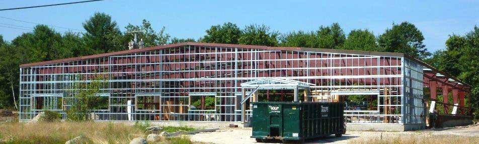 New R & D Building